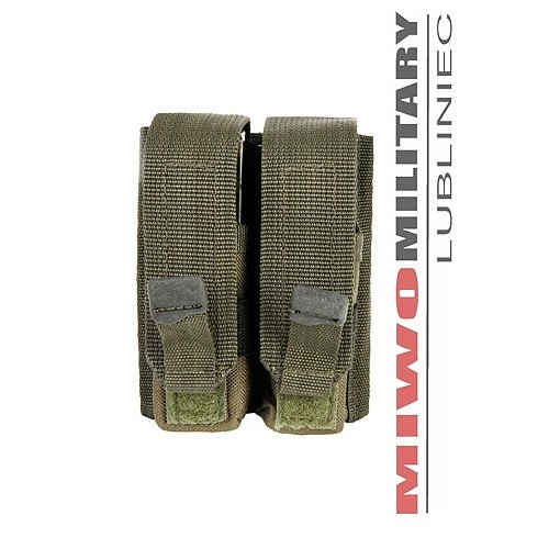 CQB POUCH FOR 2 PISTOL MAGAZINES