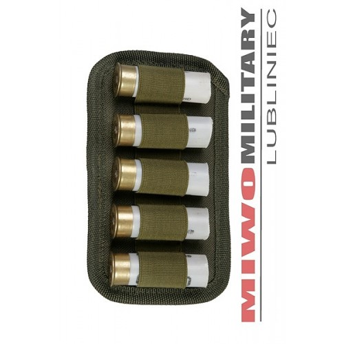 CQB TYPE POUCH FOR 5 12/70 SHOTGUN SHELLS