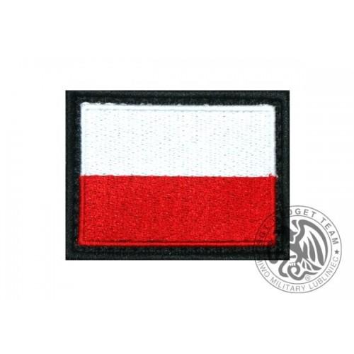 NASZYWKA Z POLSKĄ FLAGĄ